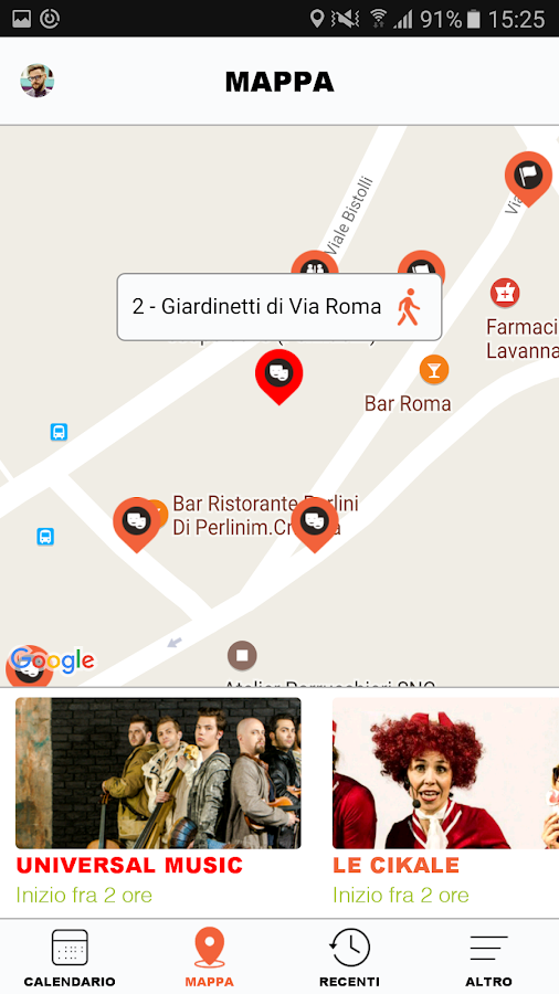 Artisti in Piazza- screenshot