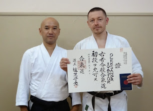 Photo: Oleksandr - Aikido instructor in Kiev dojo (Ukraine) http://nishiobudo.org.ua/en_dojo_kiev.html Member of Yufukan Japan Foundation (YJF) http://www.yufukan.com/