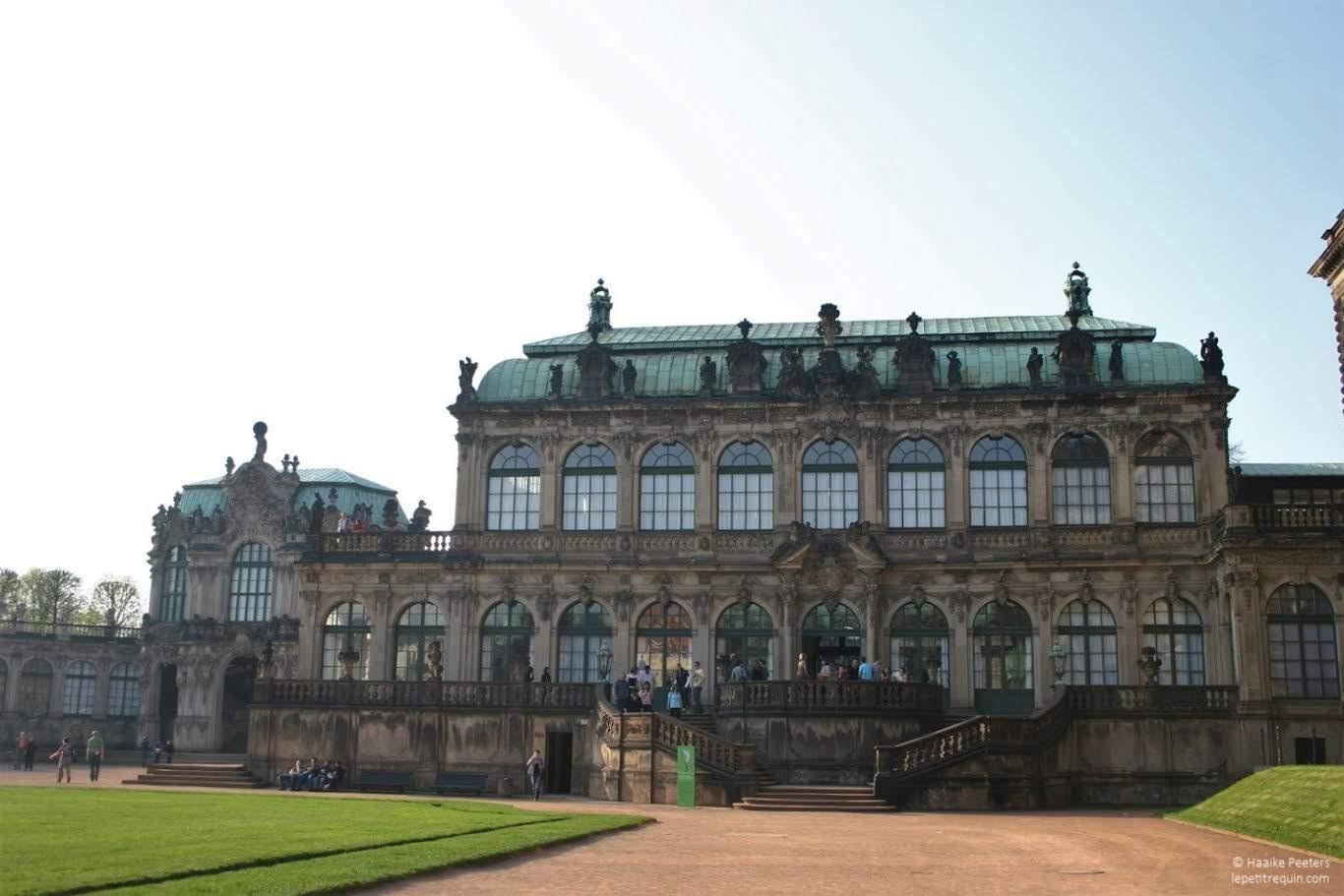 Zwinger Dresden (Le petit requin)
