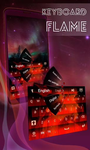 炎のキーボード