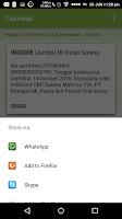 Screenshot of CekHalal