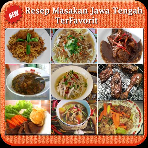 Resep Masakan Jawa Tengah Android App Screenshot