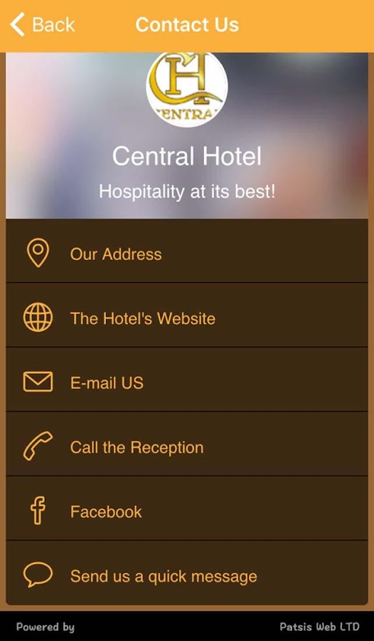 Central Hotel- screenshot