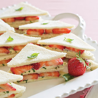Strawberry Tea Sandwiches Recipe