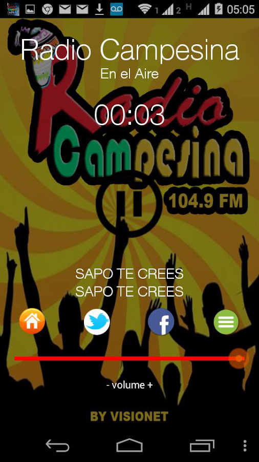 Radio Campesina 104.9 Fm- screenshot