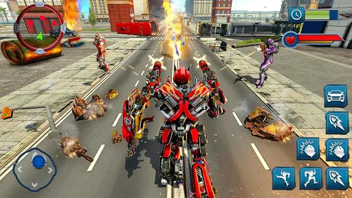 Ramp Car Robot Transforming Game: Robot Car Games 1.1 screenshots 12