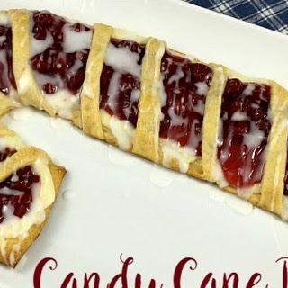 Candy Cane Danish
