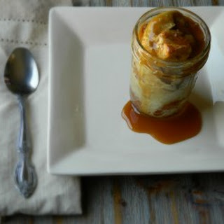 Cinnamon Espresso Bread Pudding {in a jar}