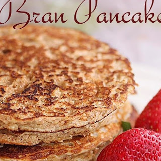 Bran Pancakes | Pancakes with Wheat Bran Recipe