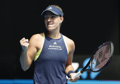 Angelique Kerber verslaat Barbora Strycova met veel moeite in Doha