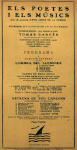 Photo: Quadern de dibuix de Joaquim Renart - Programa Concert Conxita Badia i Eduard Toldrà © Biblioteca de Catalunya