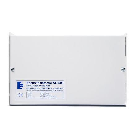 Akustisk detektor AD-500 / 230 VAC i plåtkapsling med mikrofon