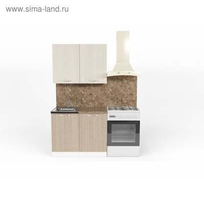 Кухонный гарнитур Ольга мини 1 1000 мм