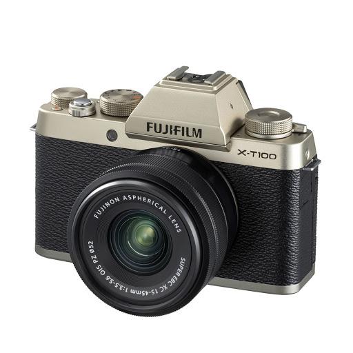 Fujifilm X-T100 15-45mm II Kit_ChampagneGold_2.jpg