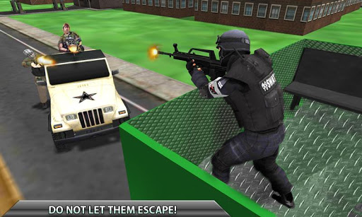 SWAT Police Big Passenger Bus