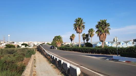 La ampliación del puente entre Huércal de Almería y Viator, más cerca