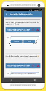 InstaMedia Downloader screenshot
