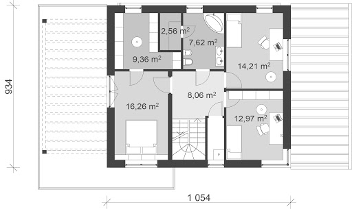 UA2v1 - Rzut piętra