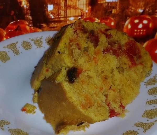 Pumpkin Spice Fruit And Nut Cake