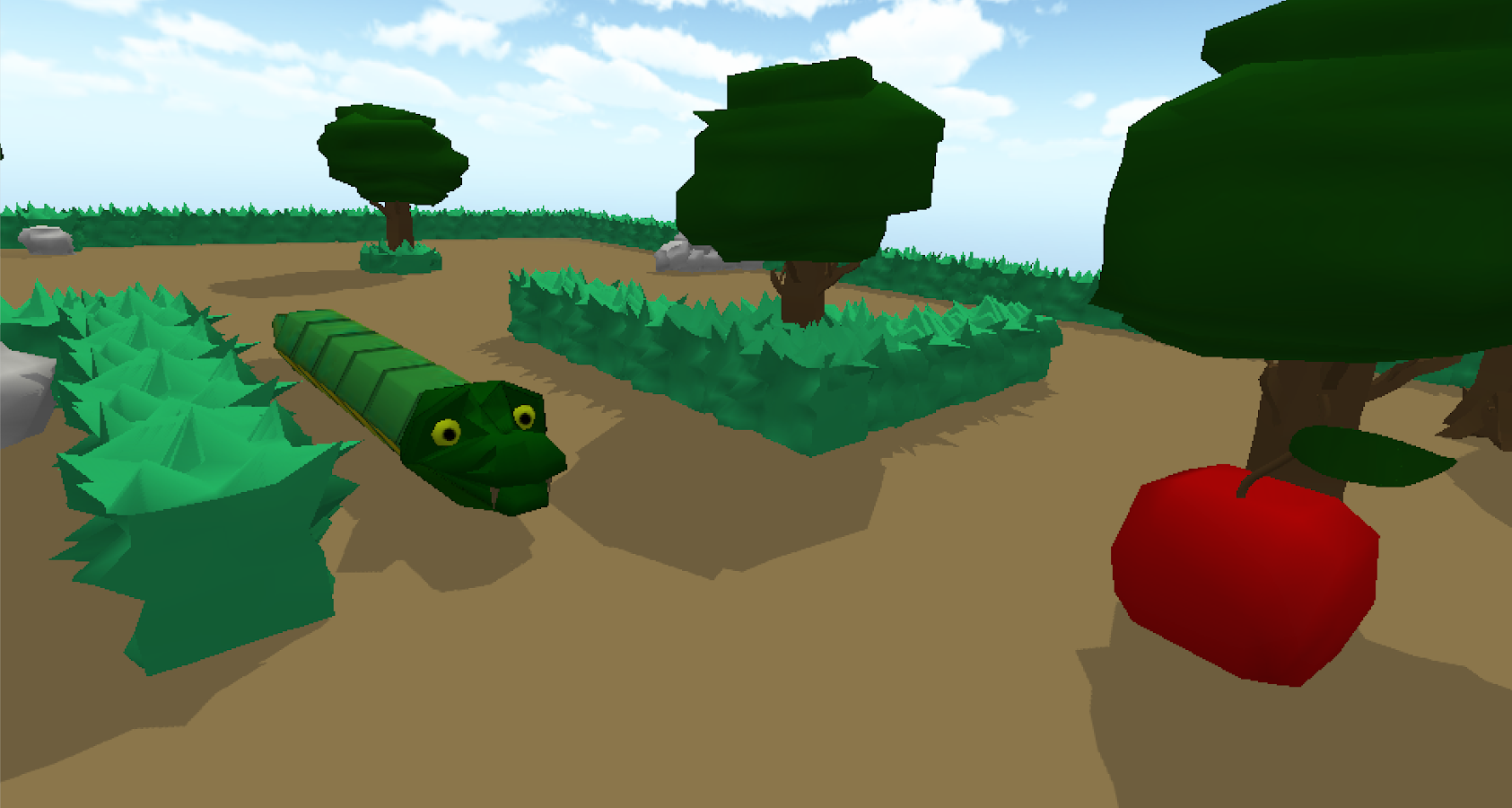 Snake Virtual Reality Game- screenshot