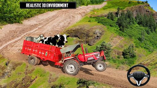 Tractor Trolley Animal Farming Simulator 3D  screenshots 2