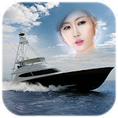 Yacht Boat Photo Frames montage and editor