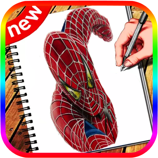 Learn How to Draw:spider Man Easy Step