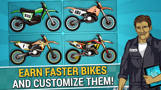 Mad Skills Motocross 2 Mod  APK (Rockets/Unlocked) for Android 2