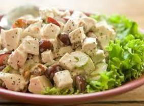 Perfectly Crunchy Turkey Salad Recipe