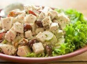 Perfectly Crunchy Turkey Salad Recipe
