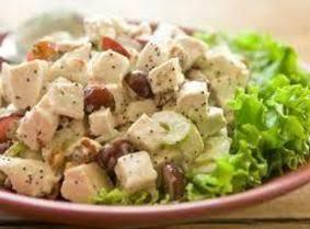 Perfectly Crunchy Turkey Salad