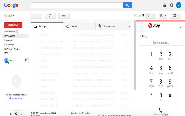 Vozy for Google