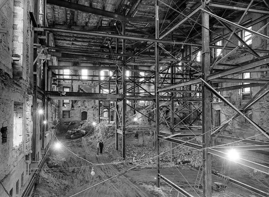1950 White House Renovation