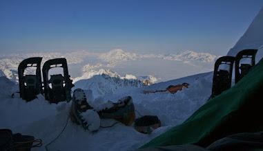 Photo: Camp 5 on East Ridge. 4500 m.