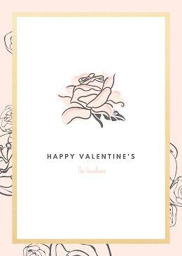 Happy Valentine's - Valentine's Day Card item