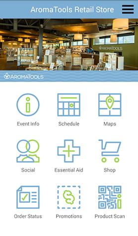 AromaTools Events Screenshot