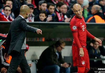 """Robben veut offrir la C1 à Guardiola """"en guise d'adieu"""""""