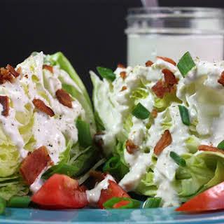 Blue Cheese Wedge Salad.