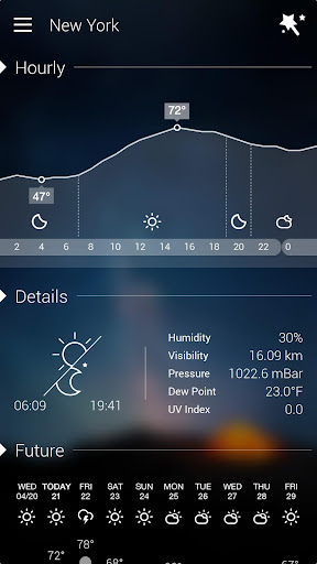 GO Weather Forecast & Widgets for PC