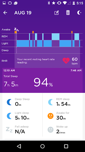 UP® – Smart Coach for Health screenshot