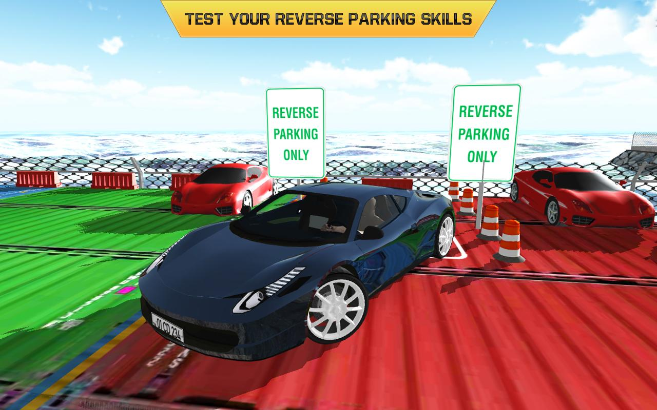 Car Parking Driving Test 2017- screenshot