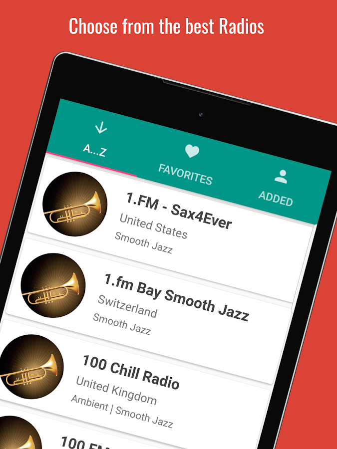Radio Smooth Jazz PRO+- screenshot