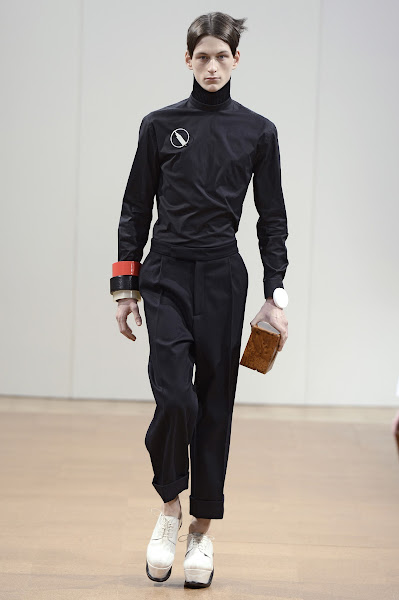 Photo: LOOK TWELVE J.W.ANDERSON AW 2014 MENS SHOW http://www.j-w-anderson.com/1/fall-2014/collection.html