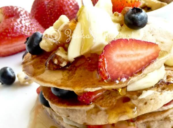 Brown Butter Banana Pancakes - 4th July Special Recipe