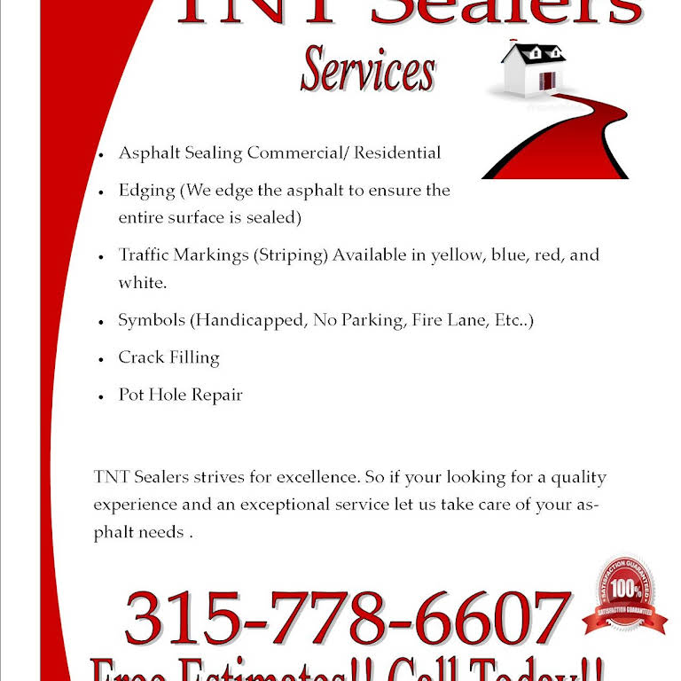 TNT Sealers - Paving Contractor