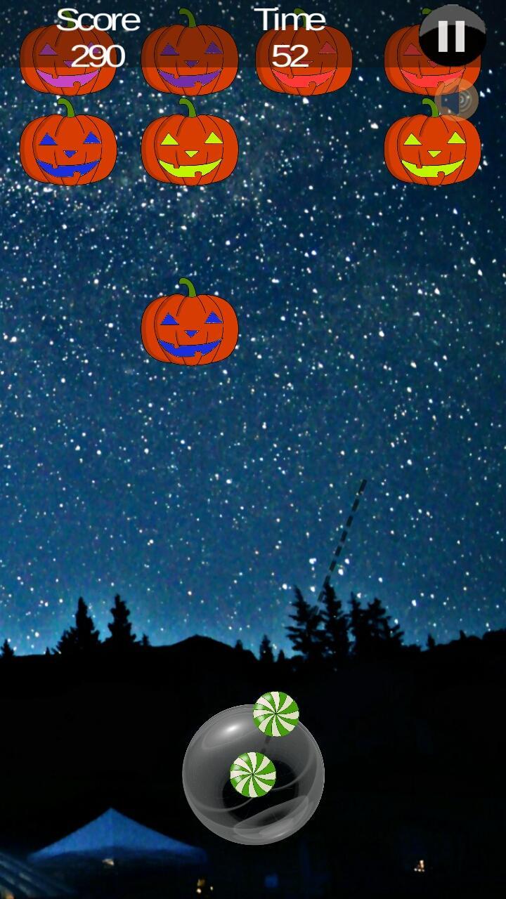 Скриншот Halloween Pumpkin shooter