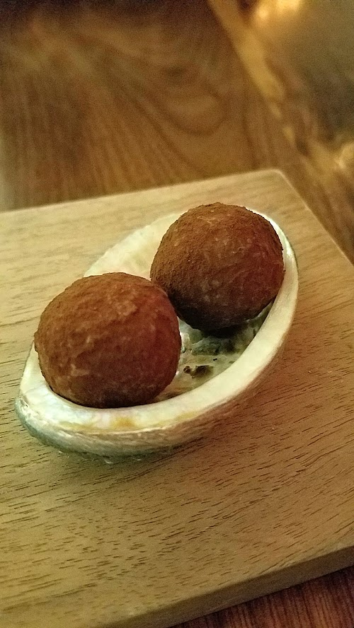 Roe PDX - after pre dessert and actual dessert listed on the menu, there's still mignardises!