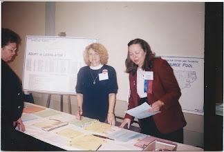Photo: Linda Wood (Currituck) and Karen McCardy