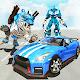 White Tiger Robot Car - US Police Transform Robot (game)