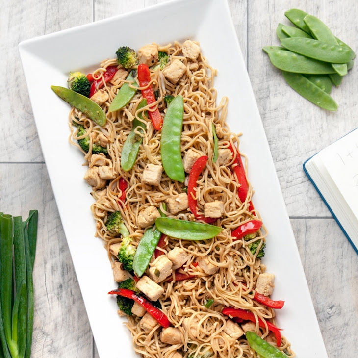 Quorn, Broccoli and Noodle Stir Fry Recipe